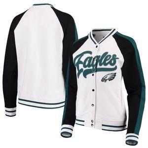 NWT New Era Phila. Eagles varsity jacket, Sz. S